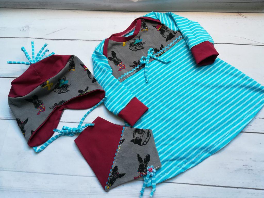 Kinderkleid-Set