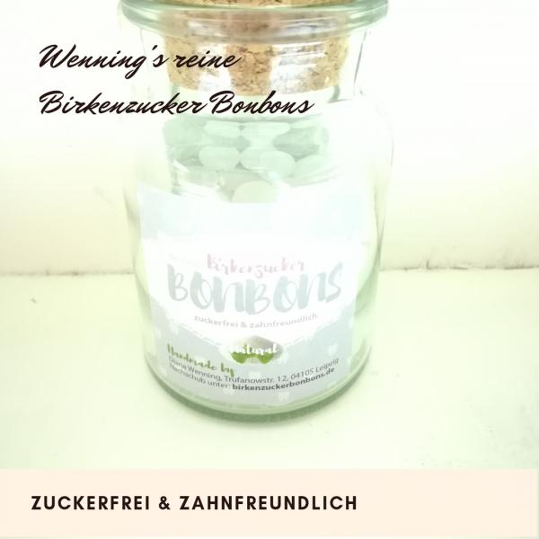 Birkenzuckerbonbons natural